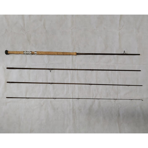 USED 15ft 1in Sage Graphite IV 10 Line 4pc DH Salmon Fly Rod (Missing Rod Tube and bag) (014)