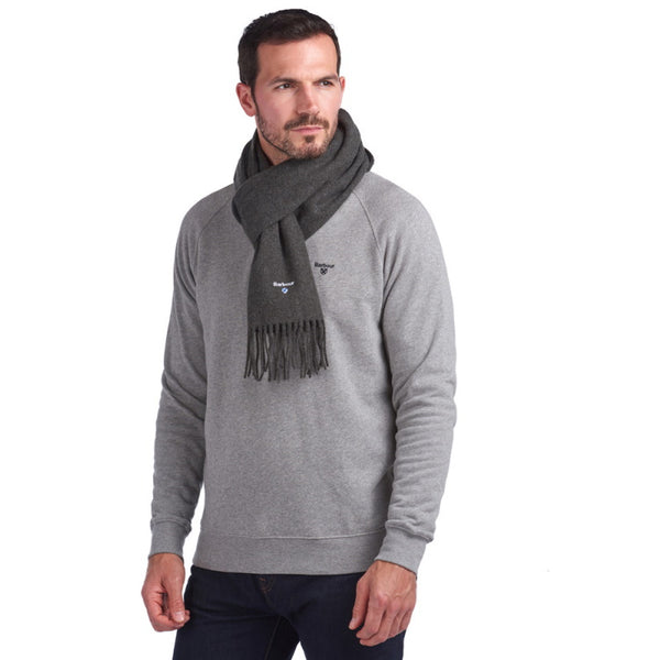 Barbour Plain Gallingale Scarf - Grey Marl
