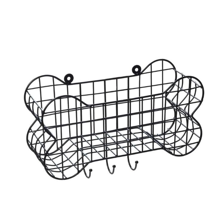 House of Paws Dog Bone Wire Storage Shelf
