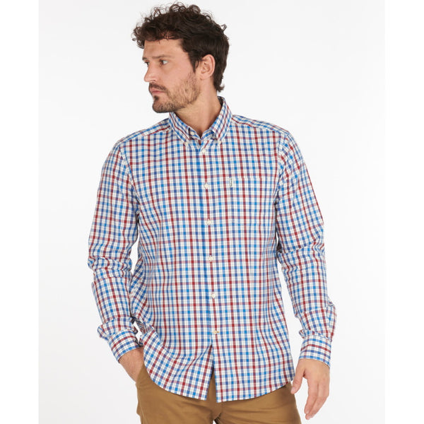 Barbour Hallhill Performance Shirt - Red