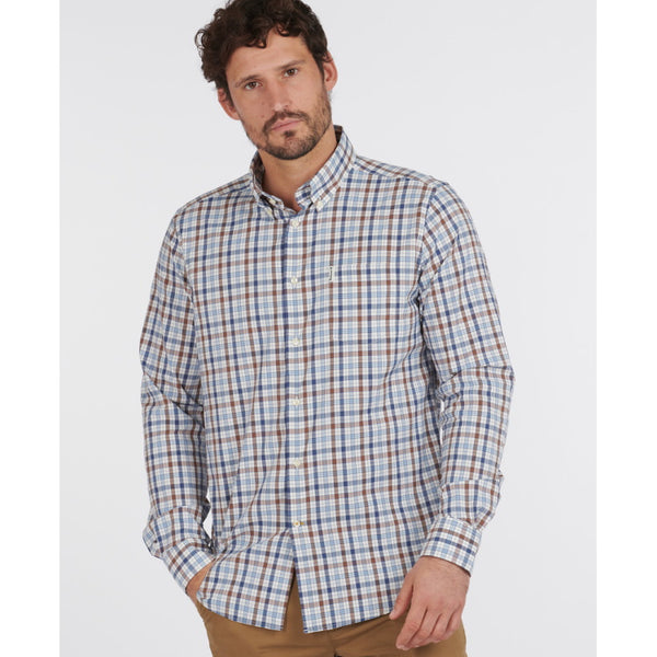 Barbour Hallhill Performance Shirt - Stone