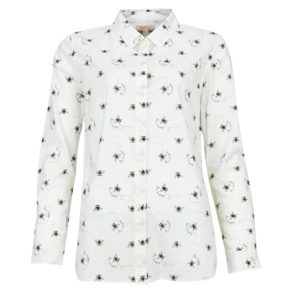 Barbour Ladies Safari Shirt - Country Bee Print