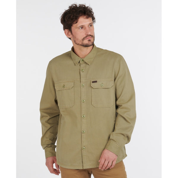 Barbour Rydale Overshirt - Olive