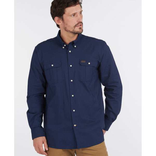 Barbour Waddington Coolmax Shirt - Navy