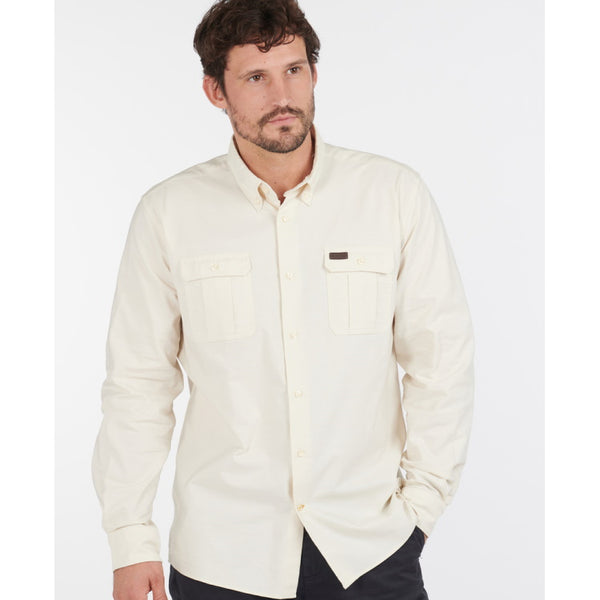 Barbour Waddington Coolmax Shirt - Neutral