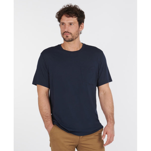 Barbour Walking Tee Shirt - Navy