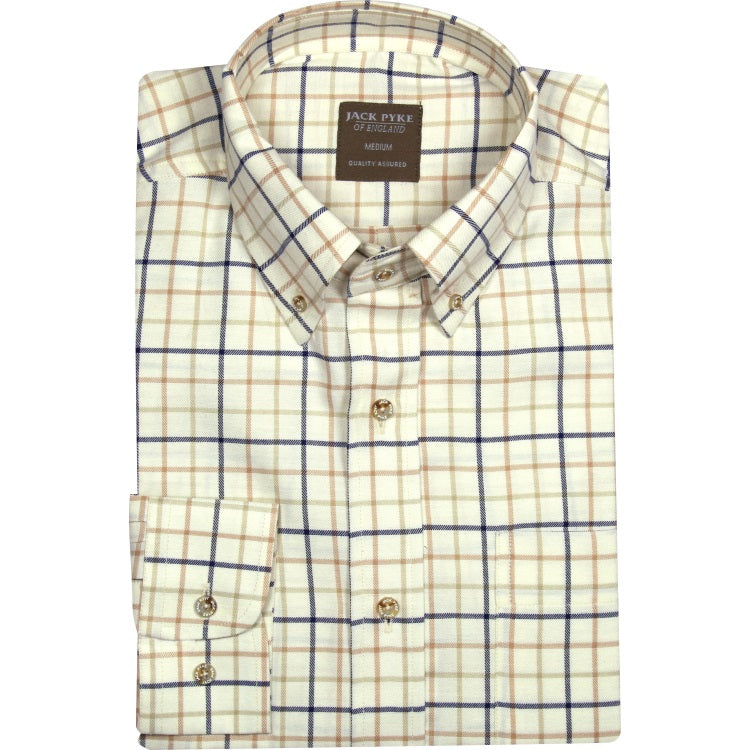 Jack Pyke Countryman Shirt - Navy Check
