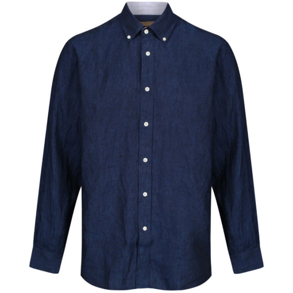 Schoffel Sandbanks Tailored Shirt - Navy