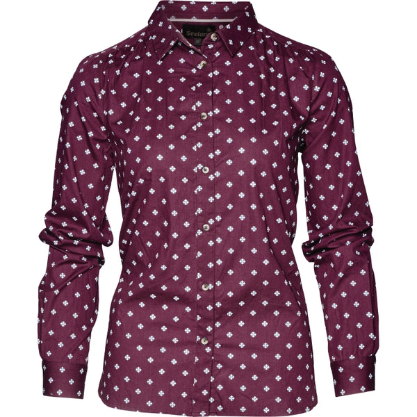 Seeland Erin Lady Shirt - Chocolate Tile