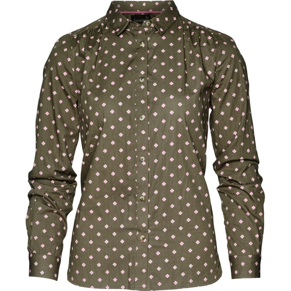Seeland Erin Lady Shirt - Green Tile