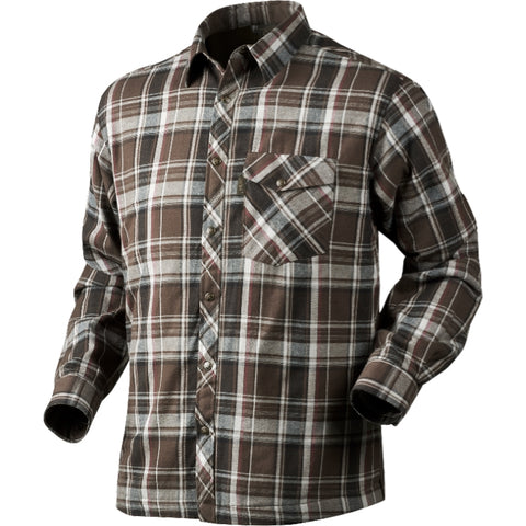 Seeland Vick Shirt - Faun Brown Check