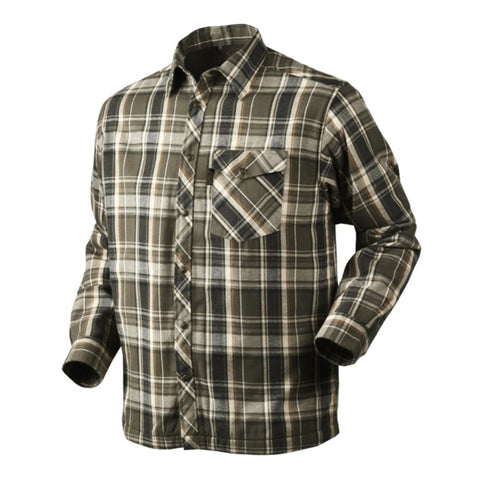 Seeland Vick Shirt - Phantom Green Check