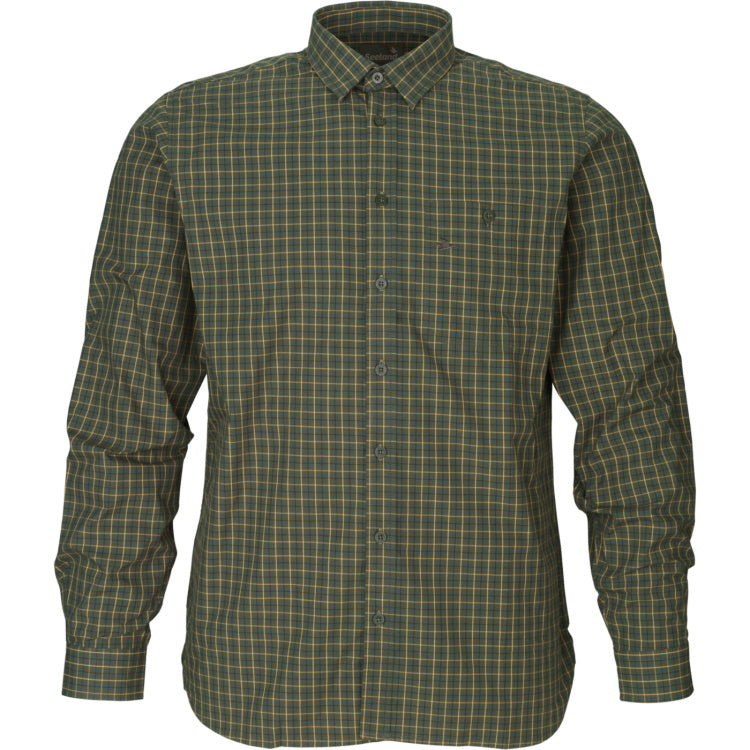 Seeland Warwick Shirt - Pine Green Check