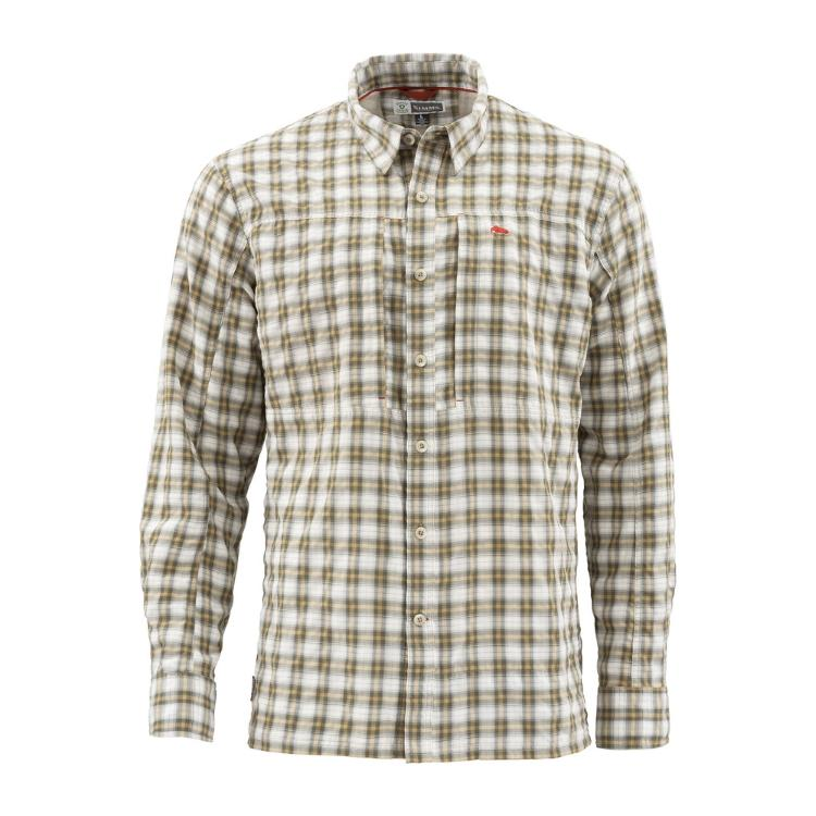Simms Bugstopper LS Shirt - Cork Plaid