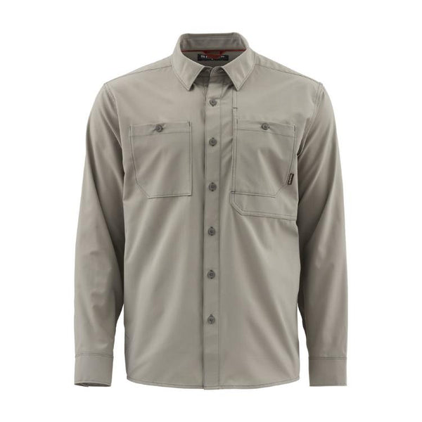 Simms Double Haul LS Shirt - Rock Ridge