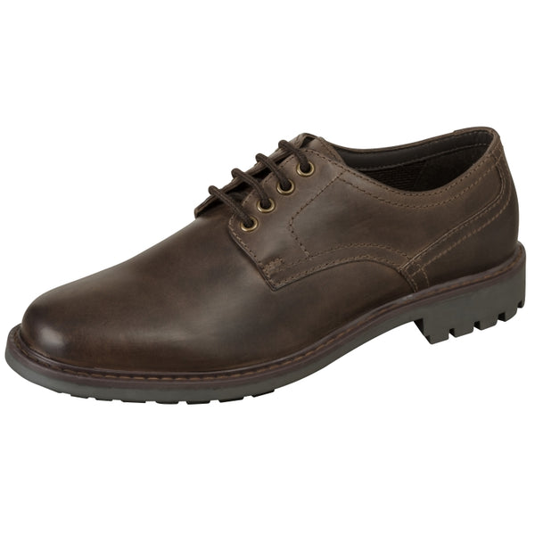 Hoggs of Fife Brora Country Derby Shoes - Waxy Brown
