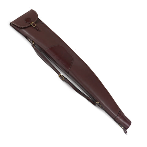 Croots Byland Bipod Rifle Slip with Flap and Zip - Oxblood