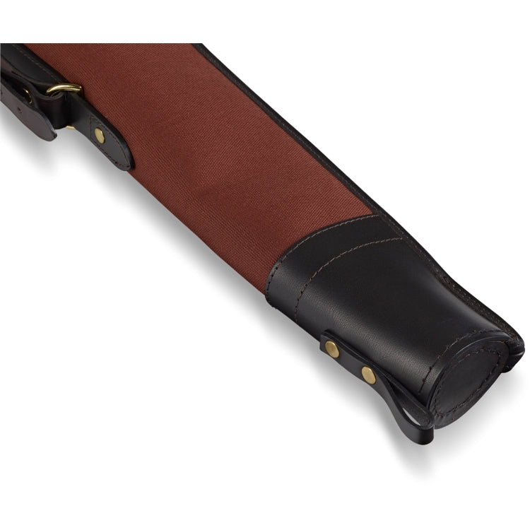 Croots Rosedale Canvas Shotgun Slip With Flap and Zip- Fox Tan