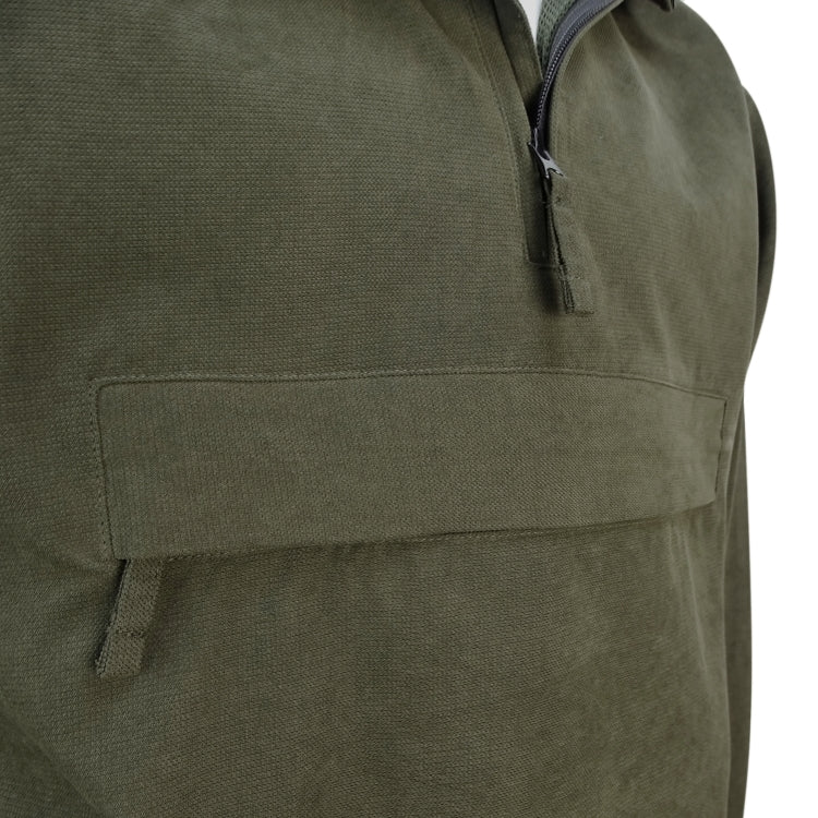 Hoggs of Fife Struther Waterproof Smock Field Jacket - Dark Green