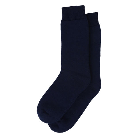 Barbour Wellington Calf Socks - Navy