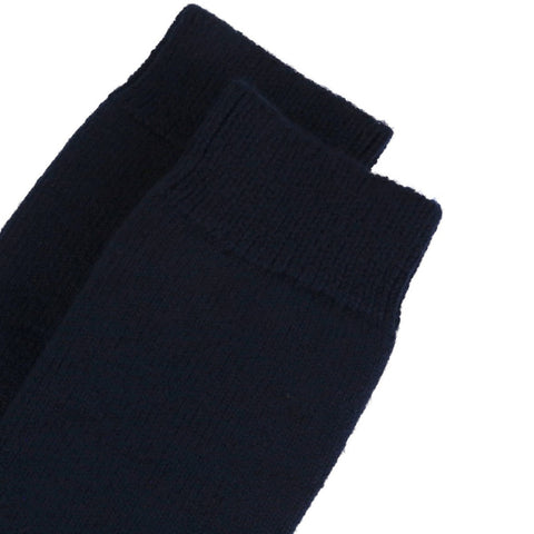 Barbour Wellington Knee Socks - Navy