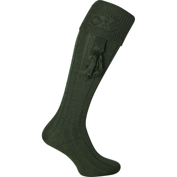 Jack Pyke Plain Shooting Socks - Green