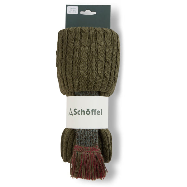 Schoffel Ladies Lilymere Socks - Olive