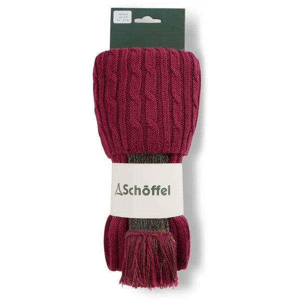 Schoffel Ladies Lilymere Socks - Raspberry