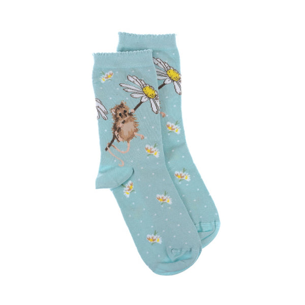 Wrendale Designs Ladies Oops a Daisy Socks