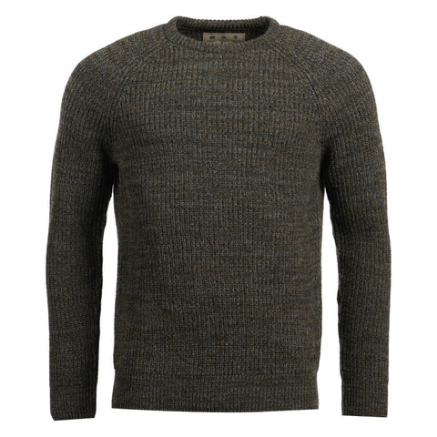 Barbour Horseford Crew Neck Sweater - Olive