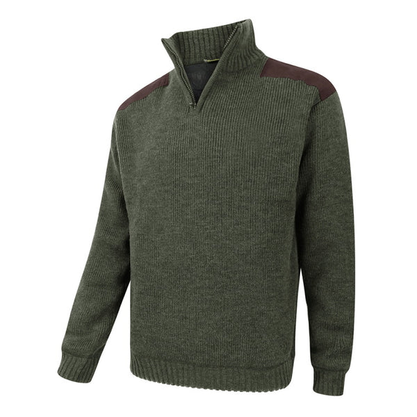 Hebrides Zip Neck Windproof Pullover