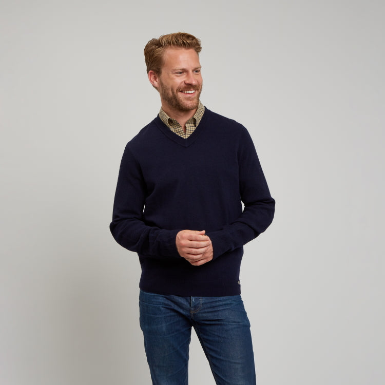 Le Chameau Asthall Jumper - Navy