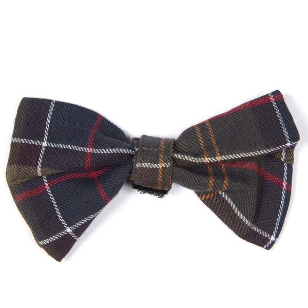 Barbour Tartan Dog Bow Tie