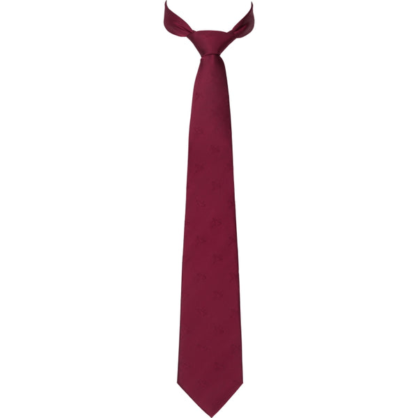 Harkila Retrieve Pheasant Silk Tie - Burgundy