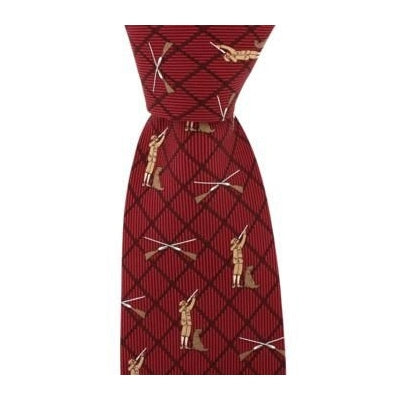 John Norris Man, Dog and Gun Country Silk Tie