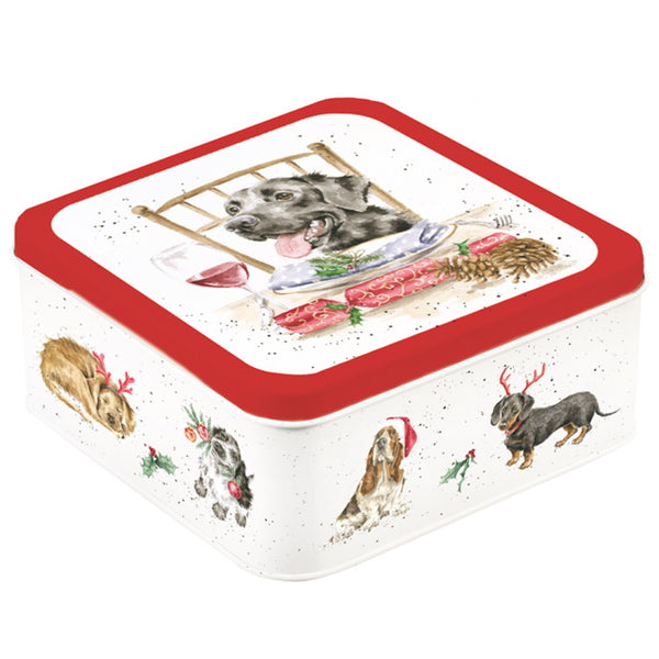 Wrendale Designs Christmas Tin - Santas Little Helper