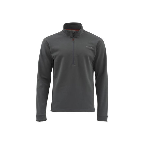 Simms Midweight Core Quarter-Zip Top - Carbon