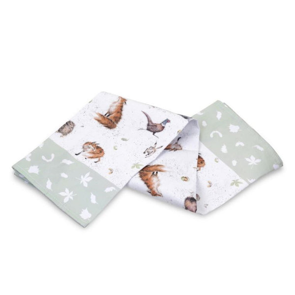 Pimpernel Wrendale Tea Towel - Woodland Animals