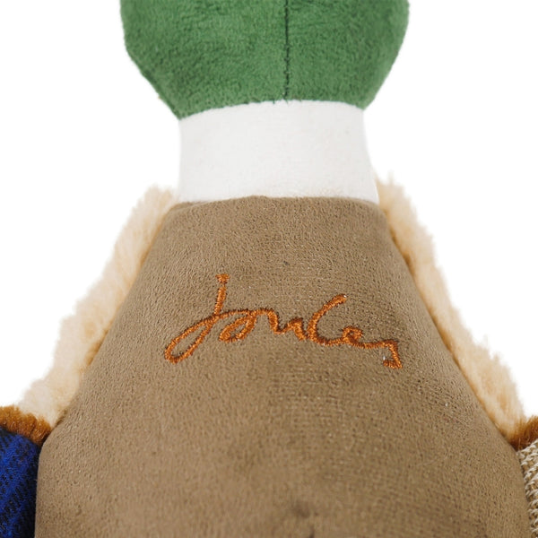 Joules Plush Printed Duck Dog Toy