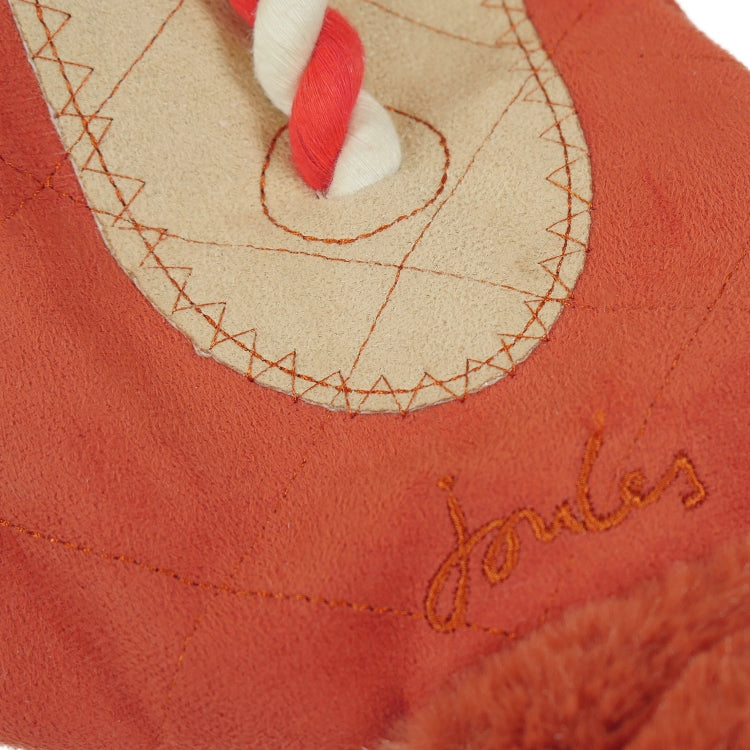 Joules Tweed Fox Rope Dog Toy