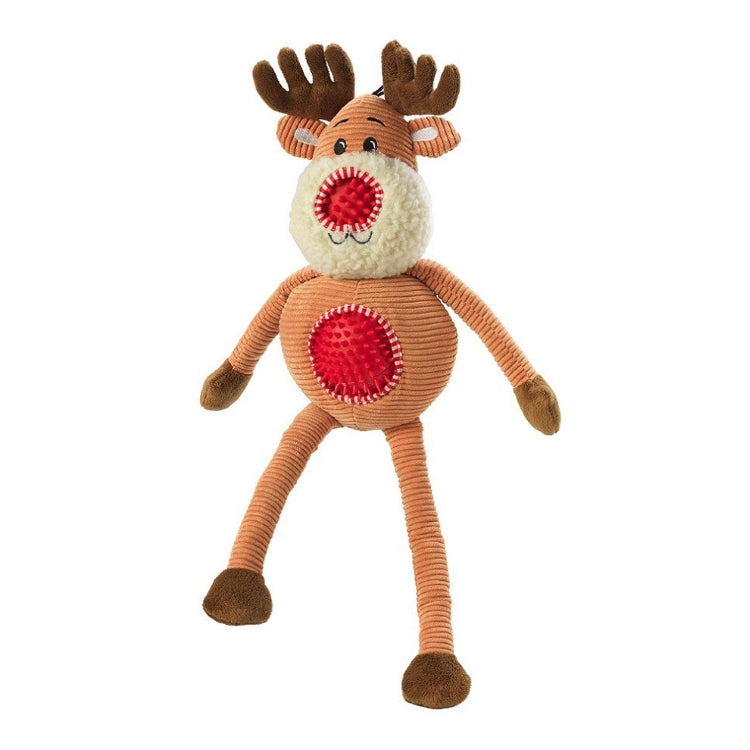 House of Paws Nosey Barker Reindeer Dog Toy