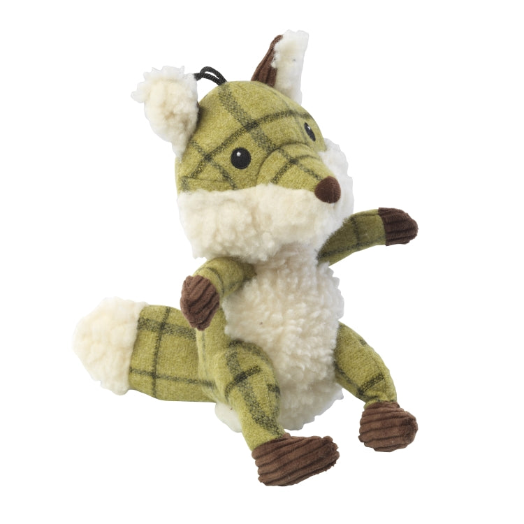 House of Paws Tweed Dog Toys - Fox