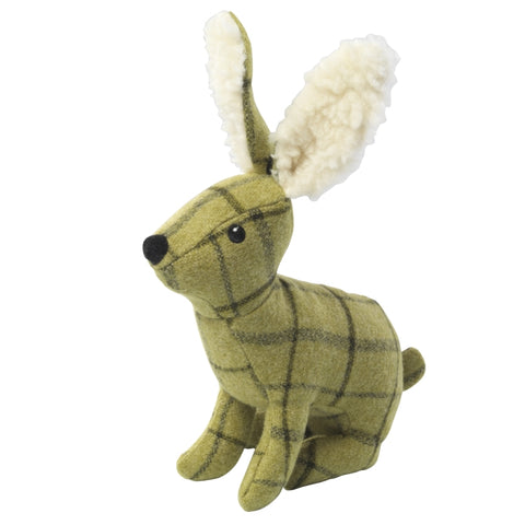 House of Paws Tweed Dog Toys - Hare