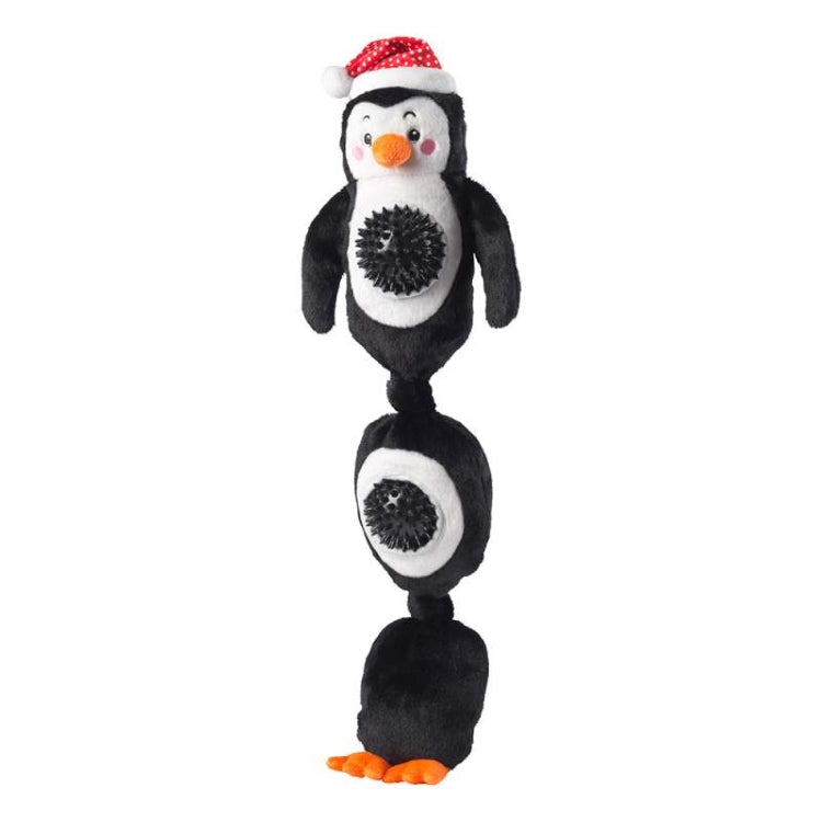 House of Paws Penguin Spiky Ball Dog Toy