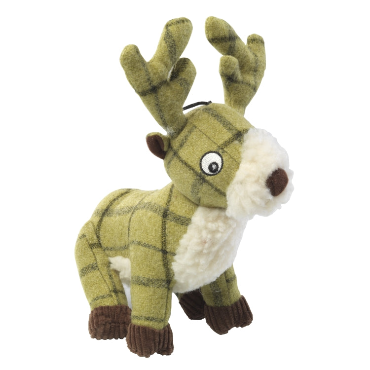 House of Paws Tweed Dog Toys - Stag