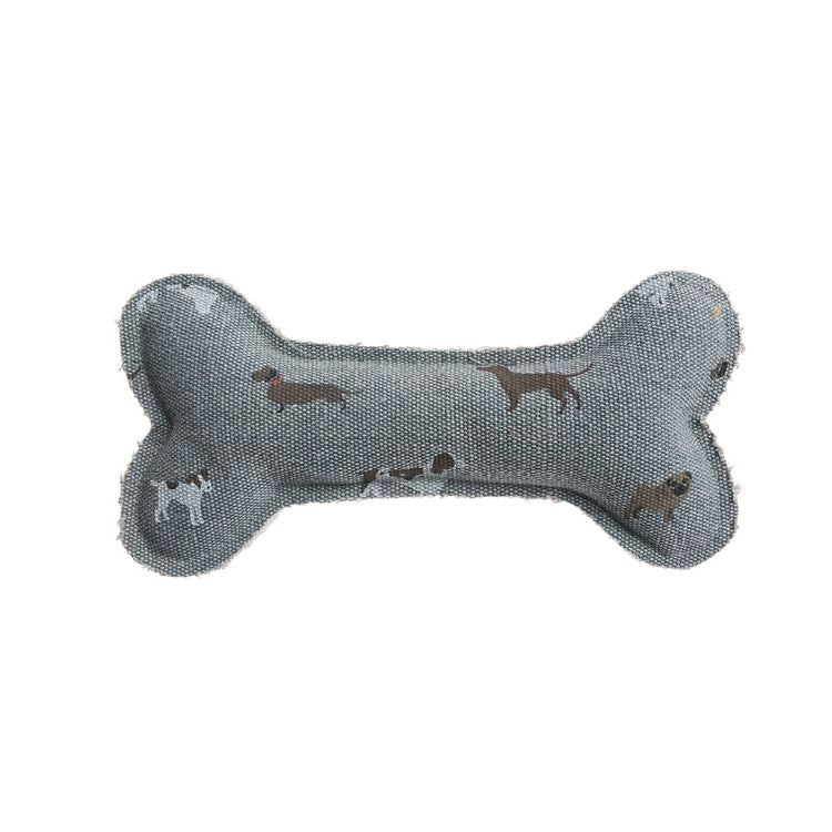 Sophie Allport Bone Canvas Dog Toy