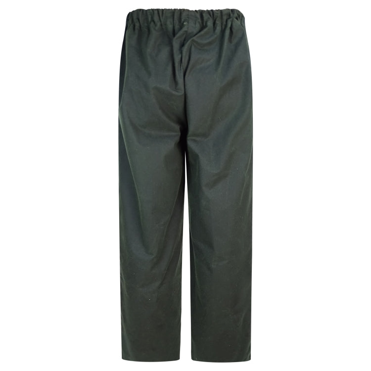 Hoggs of Fife Waxed Overtrousers - Olive
