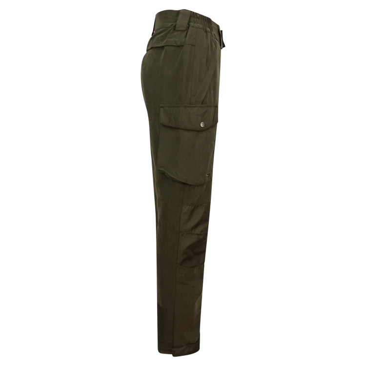 Hoggs of Fife Glenmore Waterproof Shooting Trousers - Dark Olive