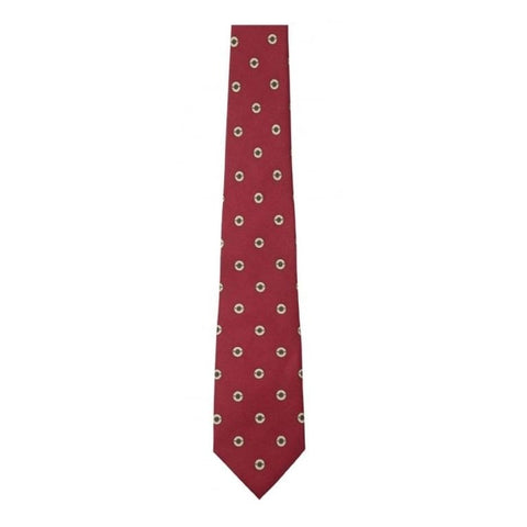 Schoffel Silk Tie - Red Cartridge