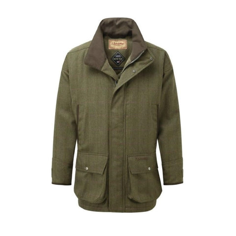 Schoffel Mens Ptarmigan Tweed Shooting Coat